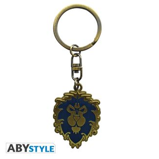 Alliance Silhouette Keychain World Of Warcraft