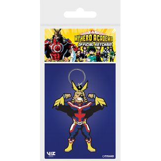 All Might Silhouette keychain My Hero Academia