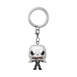 Funko Jack Scary Face Keychain Nightmare Before Christmas POP!