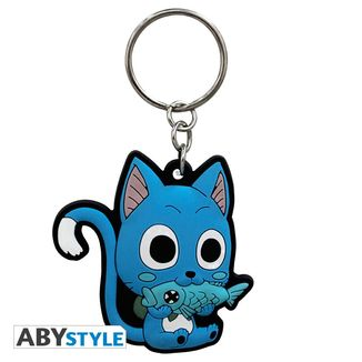 Happy Keychain Fairy Tail