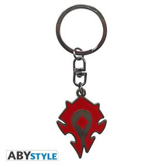 Horde Silhouette Keychain World Of Warcraft