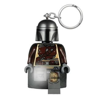 Din Djarin Lego Keychain with light Star Wars The Mandalorian