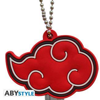 Akatsuki Cloud Emblem Keychain Akatsuki Naruto Key Case