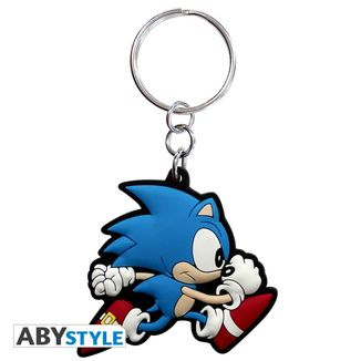 Sonic Run Keychain Sonic The Hedgehog