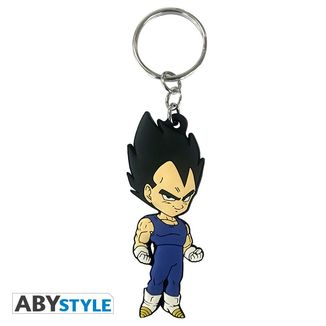 Vegeta Base Pose Keychain Dragon Ball Z