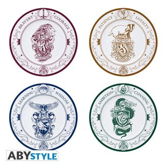 Hogwarts Houses Dishes Harry Potter