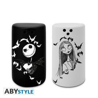 Jack & Sally Salt & Pepper Shakers Nightmare Before Christmas