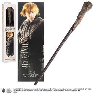 Ron Weasley Magic Wand And 3D Bookmark Harry Potter