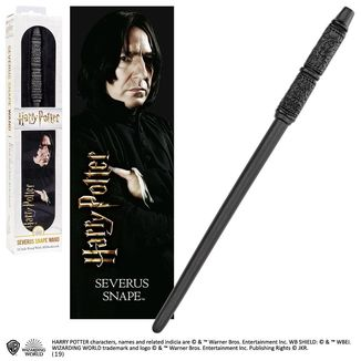 Severus Snape Magic Wand And 3D Bookmark Harry Potter