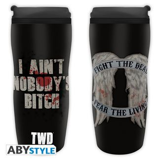 Daryl Wings Travel Mug The Walking Dead