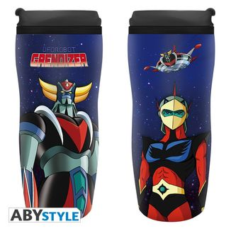 Grendizer & Duke Fleed Travel Mug UFO Robot Grendizer