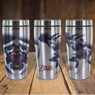 Vaso de Viaje Link The Legend Of Zelda