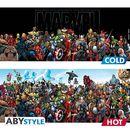 Marvel Heroes Heat Change Mug Marvel Comics
