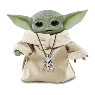 Peluche Baby Yoda The Child Star Wars The Mandalorian Animatronic