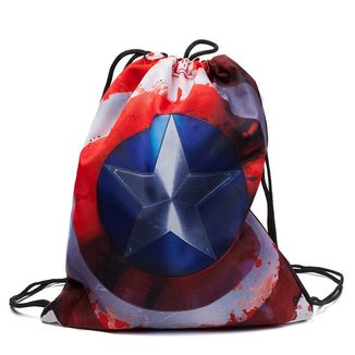 GYM Bag Captain America Shield Marvel Comics