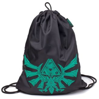 GYM Bag The Legend of Zelda Triforce Neon Green