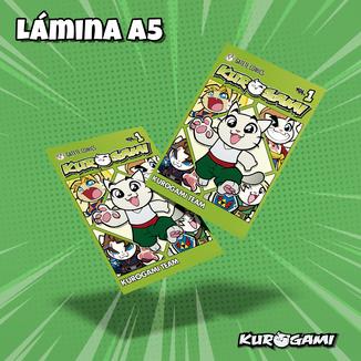 Kuroneko Manga Poster A5 Kurogami