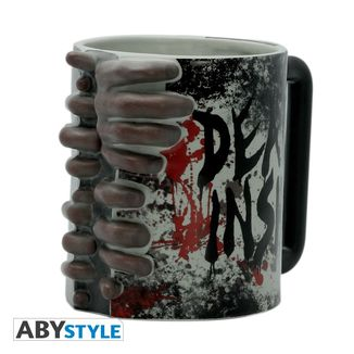 Taza 3D Don't Open Dead Inside The Walking Dead