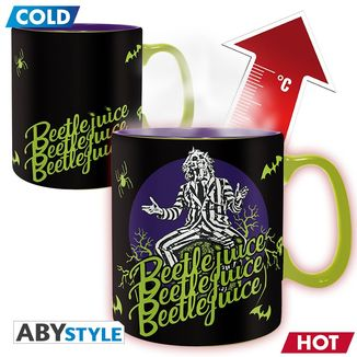 It's Show Time Heat Change Mug Beetlejuice