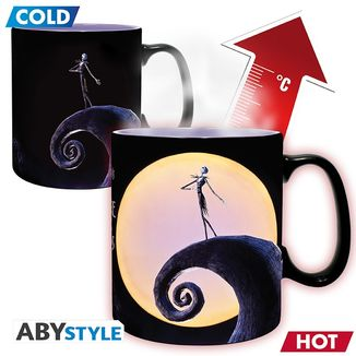 Jack Skellington & Moon Heat Change Mug Nightmare Before Christmas