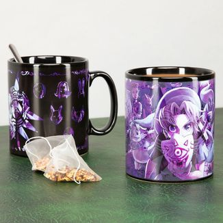 Majora's Mask XL Heat Change Mug The Legend Of Zelda