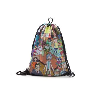Bolso GYM Rick y Morty Mosaico