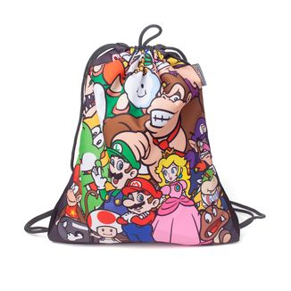 GYM Bag Super Mario Bros Characters