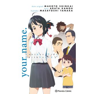 Your Name Another Side Novela Oficial Planeta Comic (spanish)