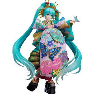 Figura Hatsune Miku Chokabuki Kuruwa Kotoba Awase Kagami Vocaloid Character Vocal Series 01