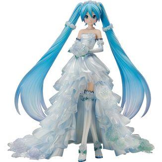 Figura Hatsune Miku Wedding Dress Vocaloid Character Vocal Series 01