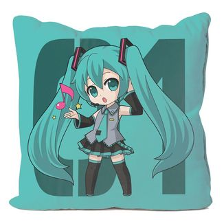 Miku Hatsune Vocaloid Cushion Cover