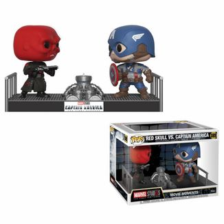 Funko POP! Capitan America y Red Skull Movie Moments