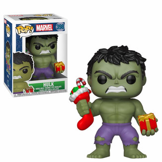 Funko Hulk Stocking & Plush Marvel Comics Holiday POP!