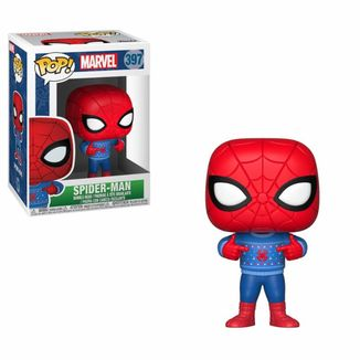 Funko Spider-Man Ugly Sweater Marvel Comics Holiday POP!