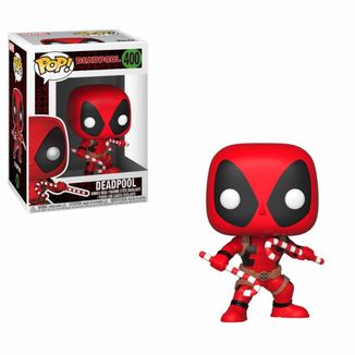 Funko Deadpool Candy Canes Marvel Comics Holiday POP!