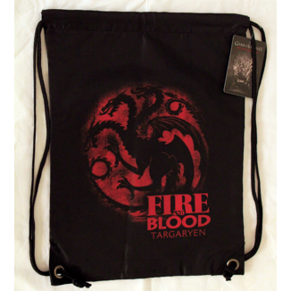 GYM Bag Game of Thrones Blood and Fire