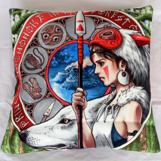 Cushion Princess Mononoke Studio Ghibli