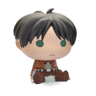 Eren Jaeger Chibi Bust Bank Attack On Titan