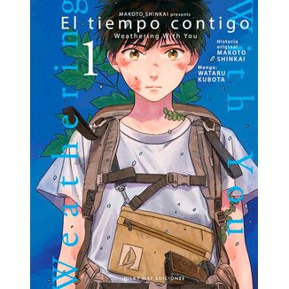 El Tiempo Contigo #01 Manga Oficial Milky Way Ediciones  (spanish)