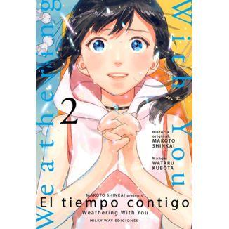 El Tiempo Contigo #02 Manga Oficial Milky Way Ediciones  (spanish)