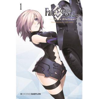 Fate/Grand Order: Turas Realta #01 Manga Oficial Ediciones Babylon