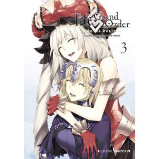 Fate/Grand Order: Turas Realta #03 Manga Oficial Ediciones Babylon