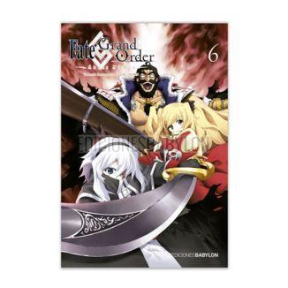 Fate/Grand Order: Turas Realta #06 Manga Oficial Ediciones Babylon (spanish)