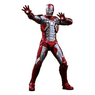 Figura Iron Man Mark V Iron Man 2 Movie Masterpiece Series Diecast