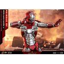 Iron Man Mark V Figure Iron Man 2 Movie Masterpiece Series Diecast