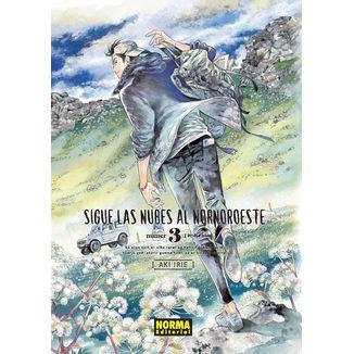 Sigue Las Nubes Al Nornoroeste #03 Manga Oficial Norma Editorial (spanish)