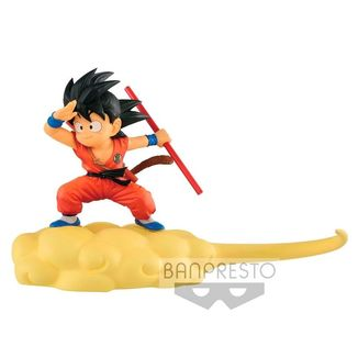 Kid Goku on Kinton Cloud Dragon Ball Figure
