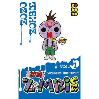 Zozo Zombie #01 Manga Oficial ECC Ediciones