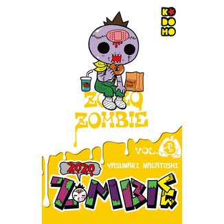 Zozo Zombie #03 Manga Oficial ECC Ediciones