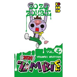 Zozo Zombie #04 Manga Oficial ECC Ediciones